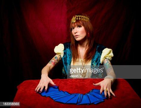 Fortune Teller & Tarot Cards
