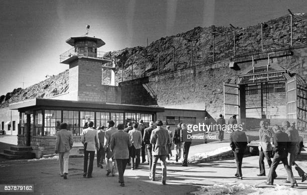 Forty seven businessmen and women from the Denver area walked through the iron gates of Colorado State Penitentiary last week on a tour which gave...