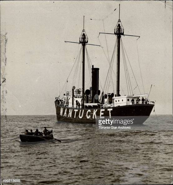 Forty five miles out at sea the nantucket lightship gives for Nantucket by the sea
