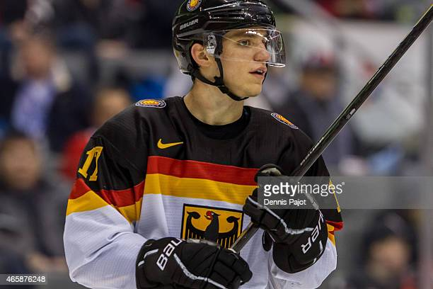 Forward Frederik Tiffels of Germany skates against Germany during the 2015 IIHF World Junior Championship on January 02 2015 at the Air Canada Centre...