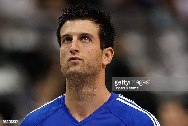Forward Jason Kapono of the Philadelphia 76ers on November 30 2009 at American Airlines Center in Dallas Texas NOTE TO USER User expressly...