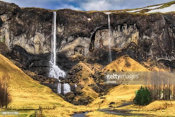 Foss A Sidu Waterfall, Kirkjubaejarklaustur, Iceland
