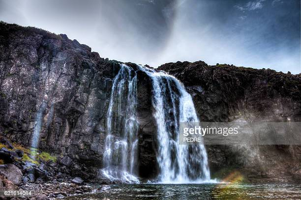 Fossdalur Waterfall at Foss