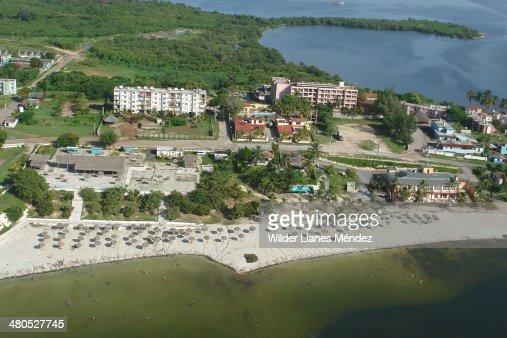 Fotos aereas de la ciudad de Caibarién, provincia : Stock Photo