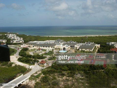 Fotos aereas de los Cayos de Caibarién, provincia : Stock Photo