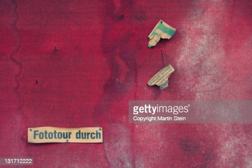 Fototour durch : Stock Photo