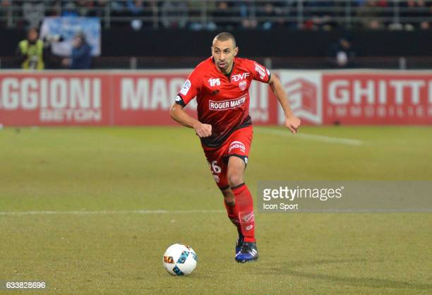Fouad Chafik of Dijon during the Ligue 1 match between Dijon DCO and Paris Saint Germain at Stade Gaston Gerard on February 4 2017 in Dijon France
