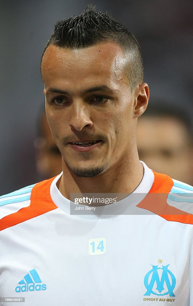 <a gi-track='captionPersonalityLinkClicked' href=/galleries/search?phrase=Foued+Kadir&family=editorial&specificpeople=4520875 ng-click='$event.stopPropagation()'>Foued Kadir</a> of Marseille looks on during the Ligue 1 match between Lille OSC, LOSC, and Olympique de Marseille, OM, at the Grand Stade Lille Metropole on April 14, 2013 in Lille, France.