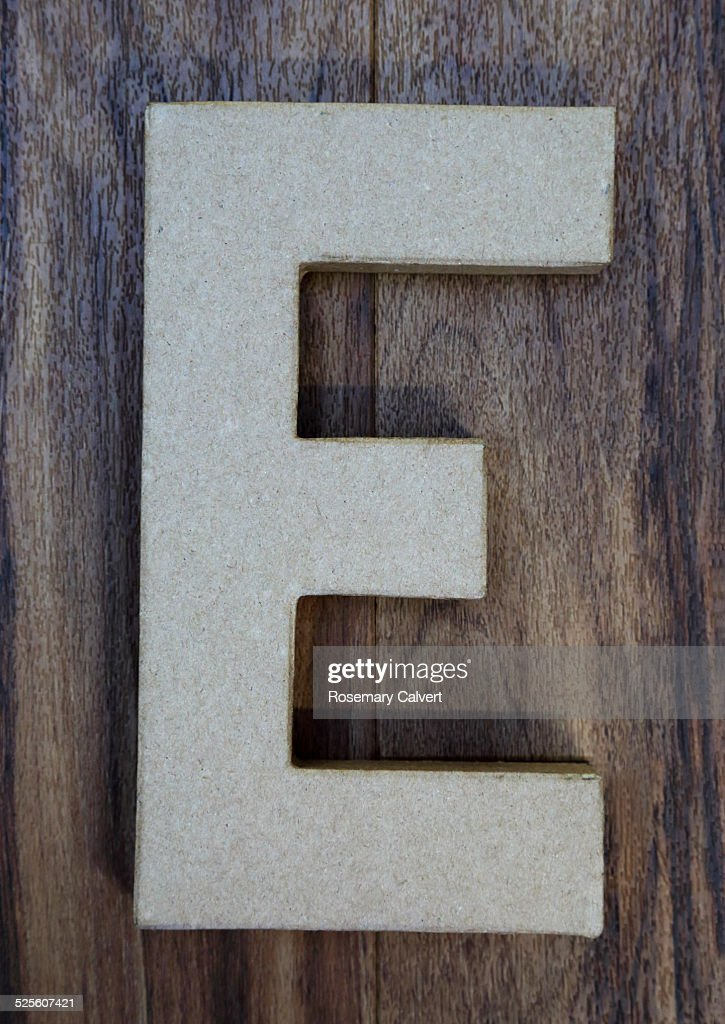 Found Letters and Numbers