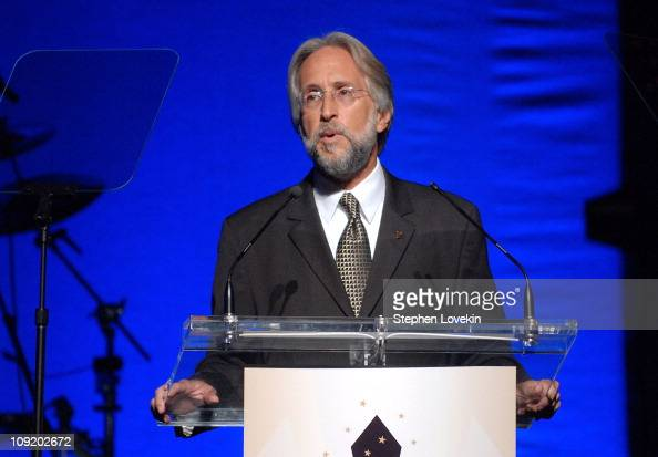 Foundation and Recording Academy President Neil Portnow during the Recording Academy New York Chapter's Tribute to Bon Jovi Alicia Keys Donnie...