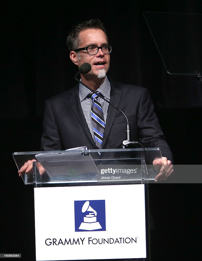 Foundation Chair Rusty Rueff attends The 55th Annual GRAMMY Awards - Music Preservation Project 'Play It Forward' Celebration highlighting The GRAMMY Foundations ongoing work to safegaurd music's history at the Saban Theatre on February 7, 2013 in Los Angeles, California.
