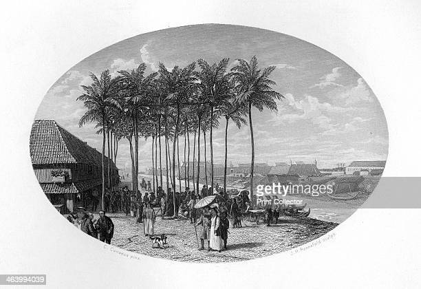 Foundation of Batavia Java Dutch East Indies The Dutch first arrived in Indonesia in 1596 and six years later established the Dutch East India...