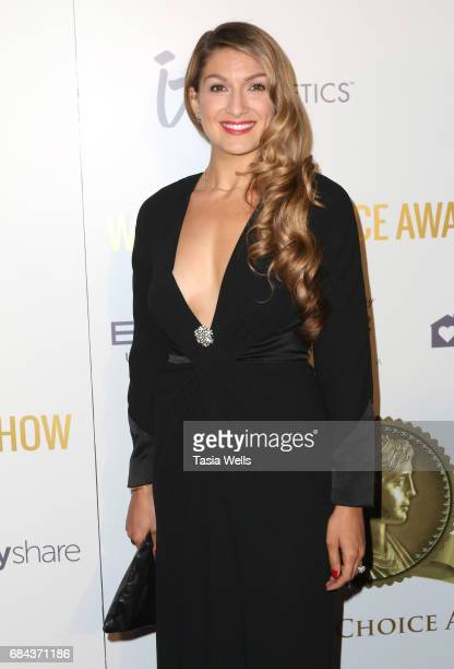 GIRL founder Alexis Jones attends the Women's Choice Award Show at Avalon Hollywood on May 17 2017 in Los Angeles California