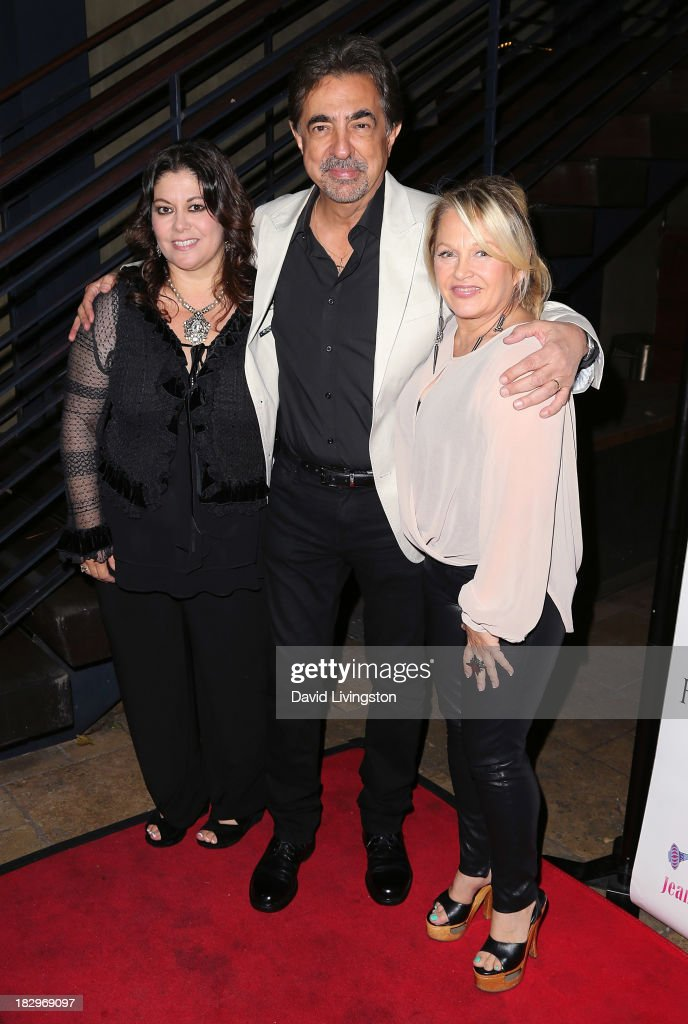 AFA founder Alisa Wolf and actors <a gi-track='captionPersonalityLinkClicked' href=/galleries/search?phrase=Joe+Mantegna&family=editorial&specificpeople=207165 ng-click='$event.stopPropagation()'>Joe Mantegna</a> and <a gi-track='captionPersonalityLinkClicked' href=/galleries/search?phrase=Charlene+Tilton&family=editorial&specificpeople=216512 ng-click='$event.stopPropagation()'>Charlene Tilton</a> attend Actors for Autism and Rockwell Table & Stage presents Reach for the Stars at Rockwell Table & Stage on October 2, 2013 in Los Angeles, California.