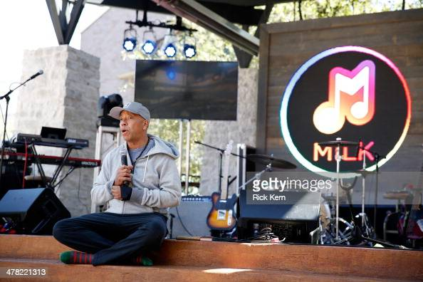 Founder All Def Music Russell Simmons participates in yoga before the ADD52 music showcase during day 5 of The Samsung Galaxy Experience at SXSW 2014...