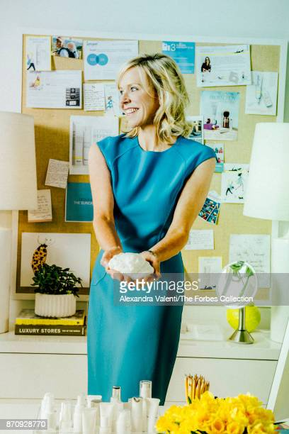 Founder and CEO at Supergoop Holly Thaggard is photographed for Forbes Magazine on May 23 2017 in San Antonio Texas PUBLISHED IMAGE CREDIT MUST READ...