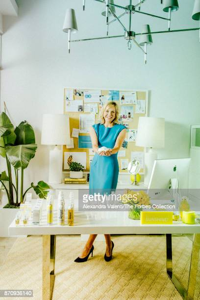 Founder and CEO at Supergoop Holly Thaggard is photographed for Forbes Magazine on May 23 2017 in San Antonio Texas CREDIT MUST READ Alexandra...