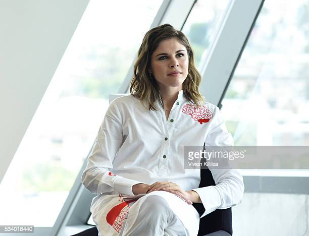 Founder and CEO Into the Gloss and Glossier Emily Weiss speaks at the Fast Company Creativity CounterConference 2016 on May 24 2016 in Los Angeles...