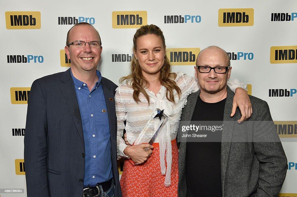 "Actress Brie Larson Receives IMDb's ""STARmeter Award"" At IMDb's Annual TIFF Dinner Party"