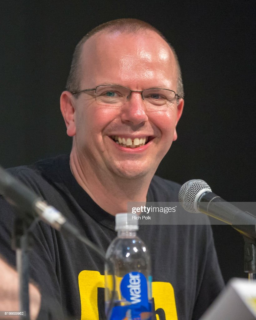 Col Needham, Founder & CEO Of IMDb, Judges The ComiXology Movie Trivia Panel Hosted By Kevin Smith At San Diego Comic-Con 2017
