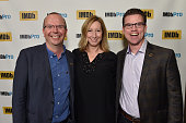 Founder and CEO of IMDb Col Needham Sundance Institute Executive Director Keri Putnam and IMDb's COO Rob Grady attend IMDb's annual TIFF Dinner Party...