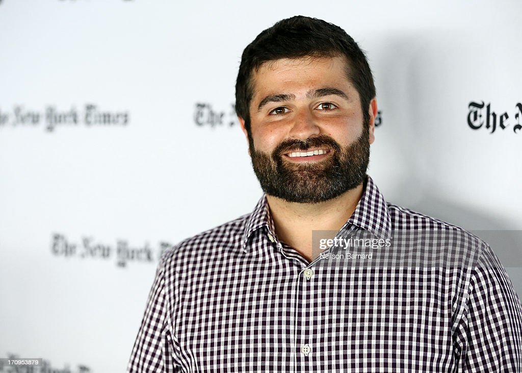 Founder and CEO of Indiegogo, Slava Rubin attends The New York Times Global Forum with Thomas L. Friedman at the Metreon on June 20, 2013 in San Francisco, California.