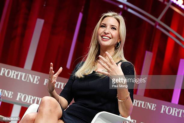 Founder and CEO of Ivanka Trump Collection and Executive Vice President of Development and Acquisitions of The Trump Organization Ivanka Trump speaks...