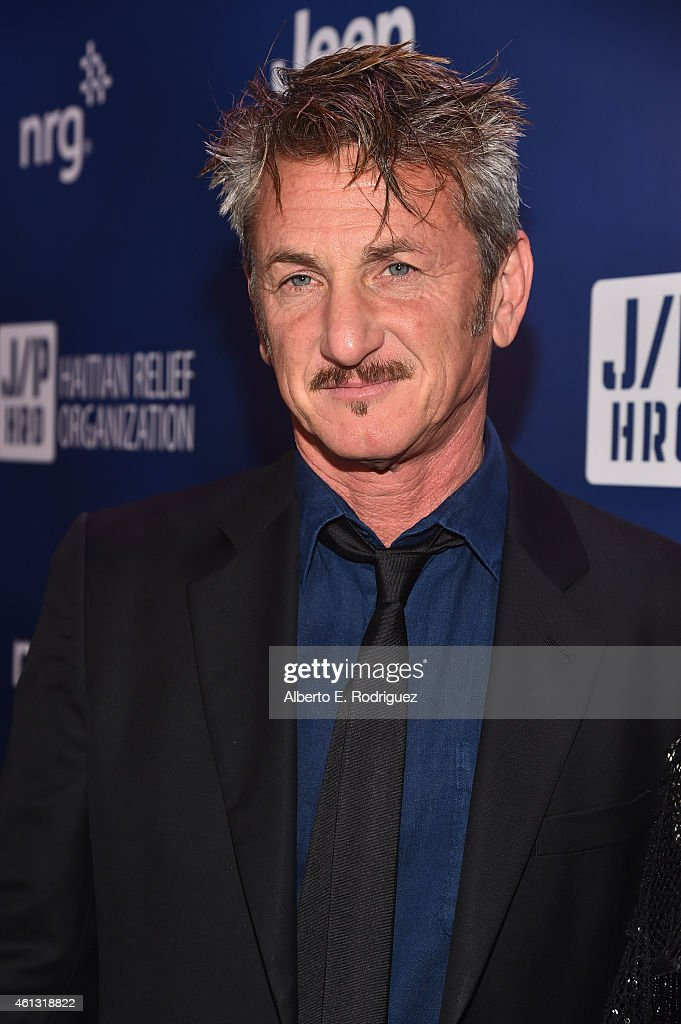 Founder and CEO of J/P Haitian Relief Organization <a gi-track='captionPersonalityLinkClicked' href=/galleries/search?phrase=Sean+Penn&family=editorial&specificpeople=202979 ng-click='$event.stopPropagation()'>Sean Penn</a> attends the 4th Annual <a gi-track='captionPersonalityLinkClicked' href=/galleries/search?phrase=Sean+Penn&family=editorial&specificpeople=202979 ng-click='$event.stopPropagation()'>Sean Penn</a> & Friends HELP HAITI HOME Gala Benefiting J/P Haitian Relief Organization on January 10, 2015 in Los Angeles, California.