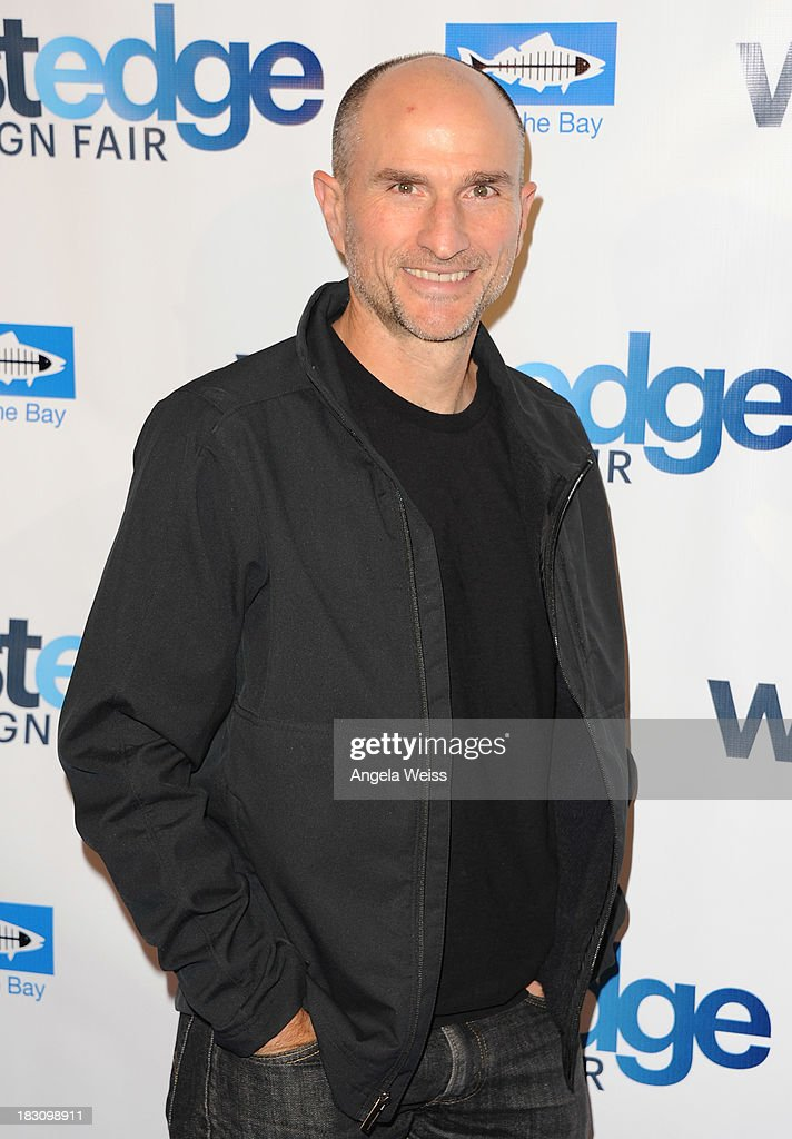 Founder and CEO of LivingHomes Steve Glenn attends the WestEdge Design Fair opening night benefiting Heal the Bay at Barker Hangar on October 3, 2013 in Santa Monica, California.