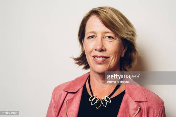 Founder and CEO of Openwater Mary Lou Jepsen poses for a portrait at 'Techonomy 2017' on November 5 2017 in Half Moon Bay California