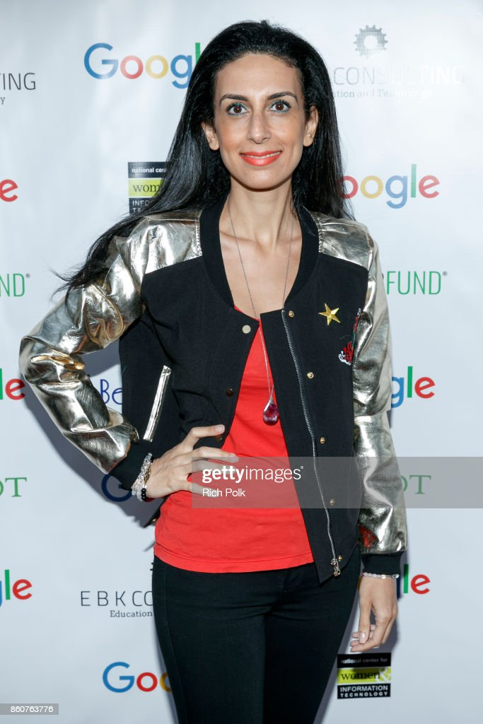 Founder and CEO of PlayWerks and WhizGirls Academy and keynote speaker Shirin Salemnia attends Google CS+X Series: Dress Code at Google Los Angeles Office on October 12, 2017 in Venice, California.
