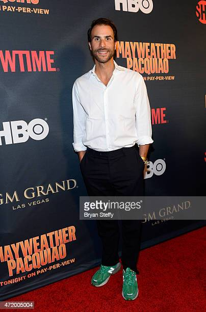 Founder and CEO of the entertainment production company Electus Ben Silverman attends the SHOWTIME And HBO VIP PreFight Party for 'Mayweather VS...