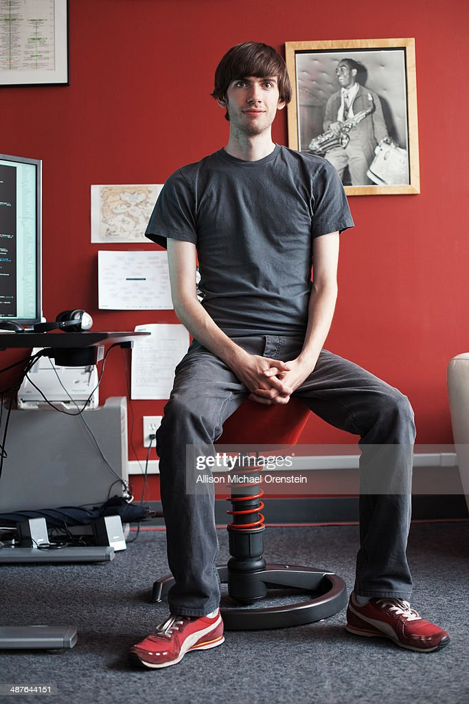 Founder and CEO of Tumblr, <a gi-track='captionPersonalityLinkClicked' href=/galleries/search?phrase=David+Karp&family=editorial&specificpeople=6603515 ng-click='$event.stopPropagation()'>David Karp</a> is photographed for Time Out NY on July 20, 2010 in New York City.