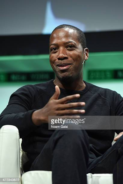 Founder and CEO of Walker Company Brands Tristan Walker speaks onstage during TechCrunch Disrupt NY 2015 Day 3 at The Manhattan Center on May 6 2015...