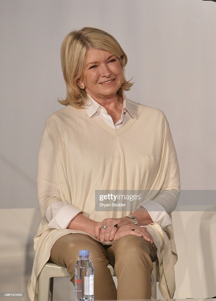 Founder and Chief Creative Officer, MSLO <a gi-track='captionPersonalityLinkClicked' href=/galleries/search?phrase=Martha+Stewart&family=editorial&specificpeople=202905 ng-click='$event.stopPropagation()'>Martha Stewart</a> speaks on stage during <a gi-track='captionPersonalityLinkClicked' href=/galleries/search?phrase=Martha+Stewart&family=editorial&specificpeople=202905 ng-click='$event.stopPropagation()'>Martha Stewart</a> American Made Summit at <a gi-track='captionPersonalityLinkClicked' href=/galleries/search?phrase=Martha+Stewart&family=editorial&specificpeople=202905 ng-click='$event.stopPropagation()'>Martha Stewart</a> Living Omnimedia Headquarters on November 7, 2015 in New York City.