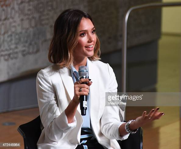 Founder and Chief Creative Officer of The Honest Company Jessica Alba speaks at Fast Company Hosts FirstEver LA Creativity Counter Conference at...
