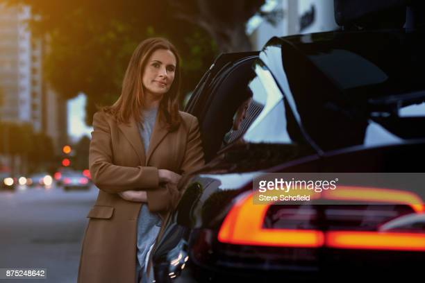 Founder and Creative Director of Eco Age Ltd Livia Firth is photographed for Vanity Fair magazine on February 25 2017 in Los Angeles California