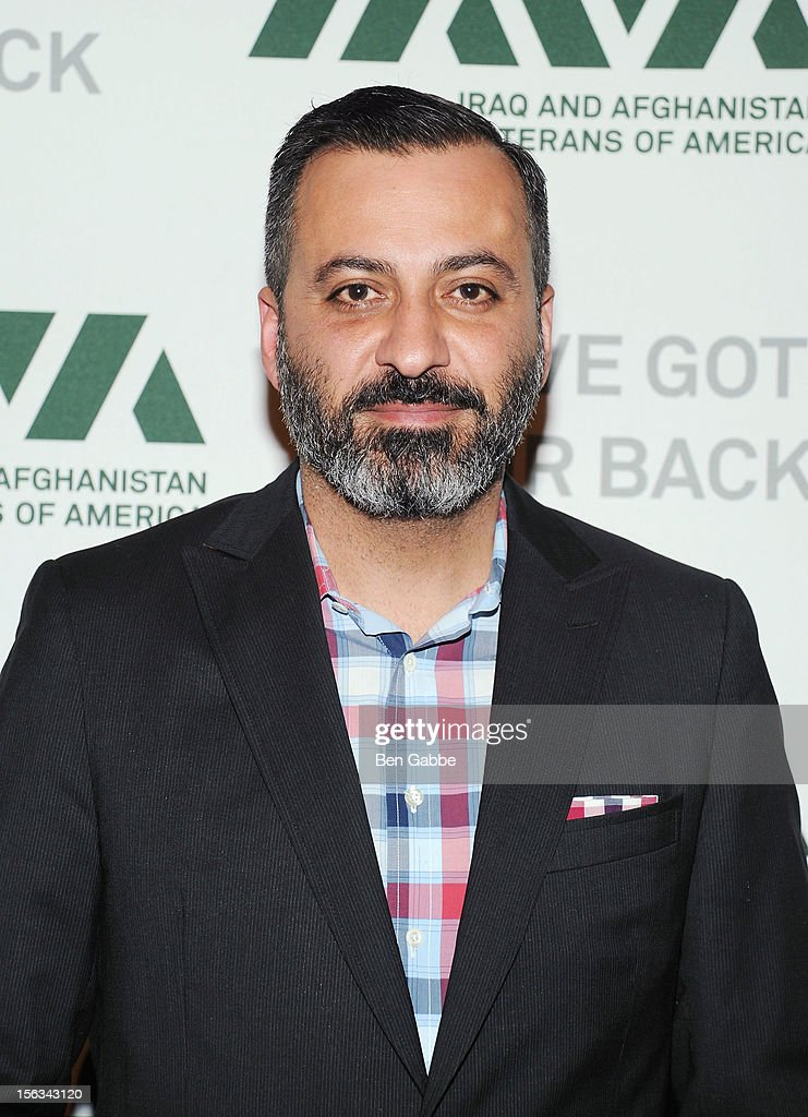 Founder and creative director of Milk Studios Mazdack Rassi attends IAVA's Sixth Annual Heroes Gala at Cipriani 42nd Street on November 13, 2012 in New York City.