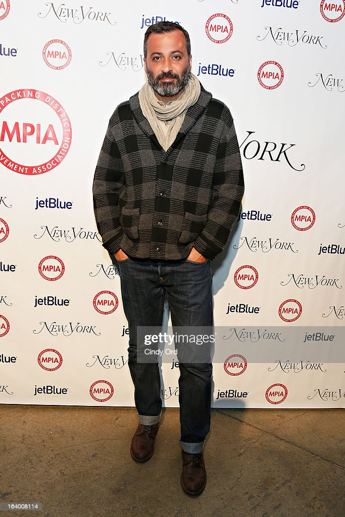 Founder and creative director of Milk Studios Mazdack Rassi attends the Meatpacking District Improvement Association first annual fundraiser OPEN MARKET at Highline Stages on March 18, 2013 in New York City.