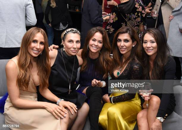 Founder and creative director of Nude Envie Isabel Madison Emma Silverman Brooke BurkeCharvet Priyanka Khanna and Jennifer Lee attend Nude Envie...