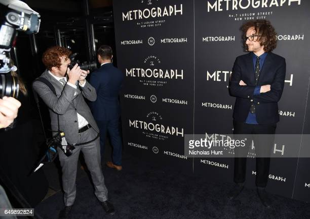 Founder and Designer of Metrograph Theater Alexander Olch attends the Metrograph Theater 1st Year Anniversary Party at The Metrograph on March 8 2017...