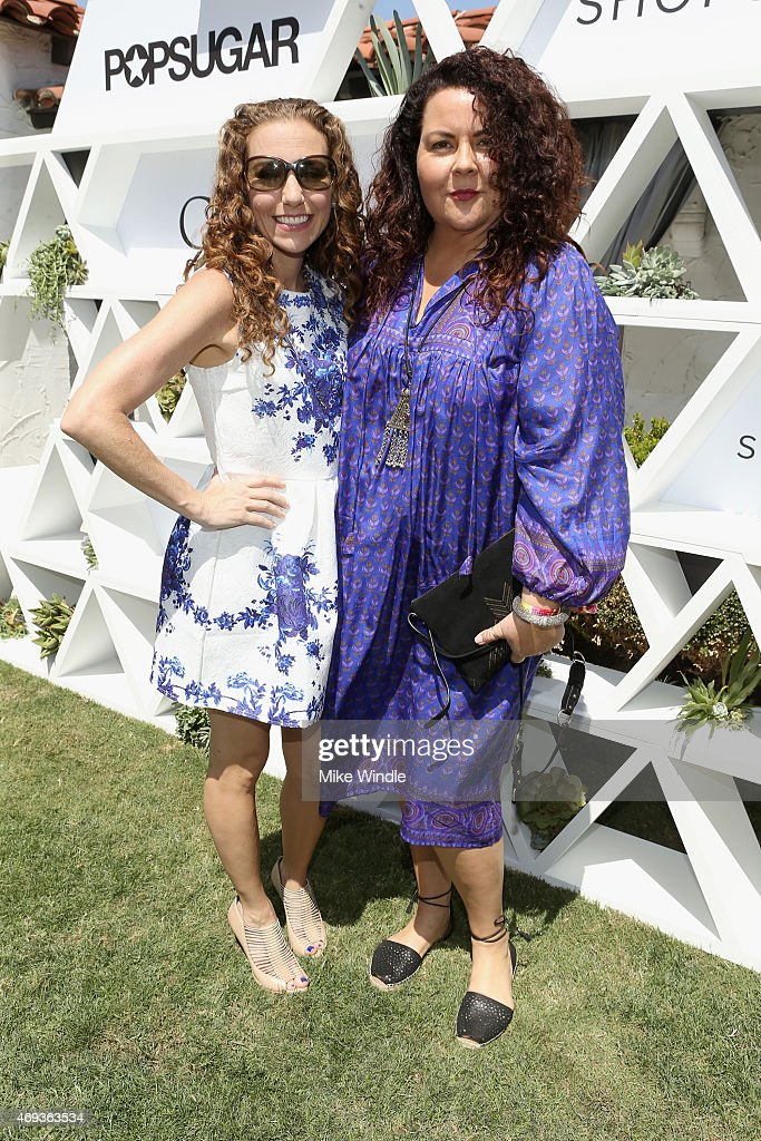 Founder and Editor in Chief POPSUGAR Lisa Sugar and Designer Cynthia Vincent attend POPSUGAR And The Council Of Fashion Designers Of America Brunch...