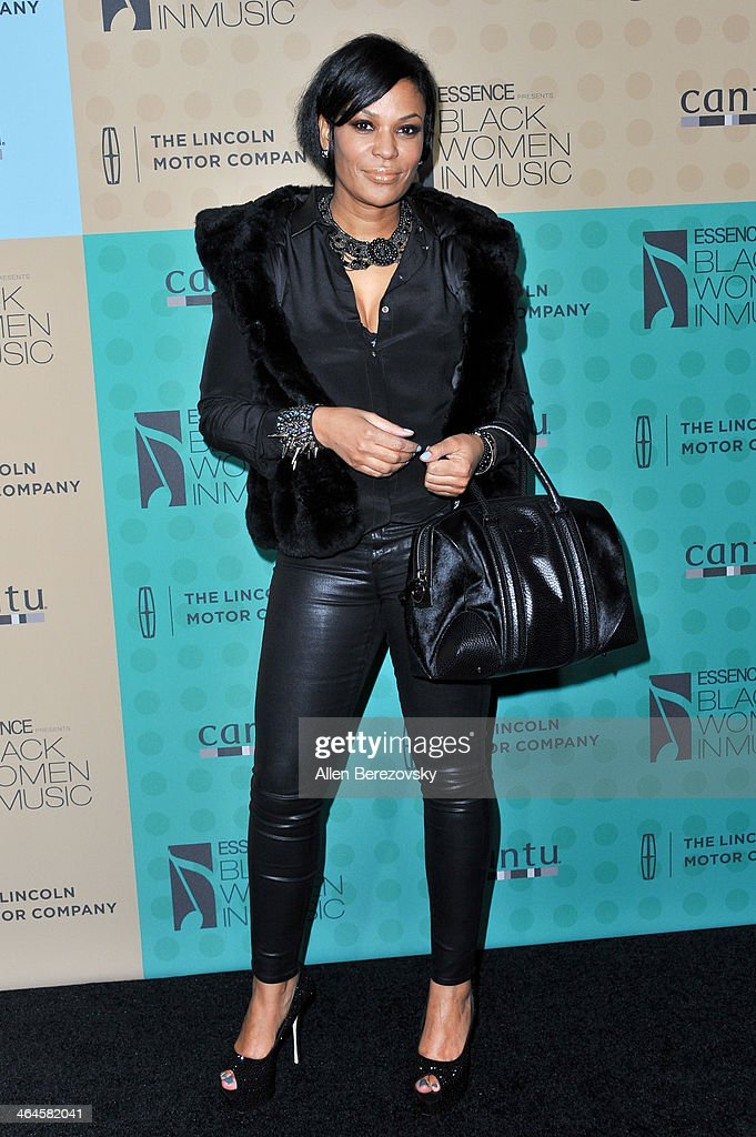 ROCK! founder and executive director Beverly Bond attends Essence Magazine's 5th Annual Black Women In Music Event at 1 OAK on January 22, 2014 in West Hollywood, California.