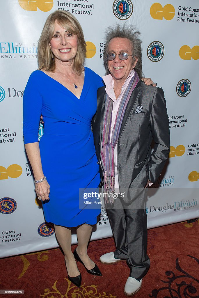 Founder and Executive Director of the Gold Coast International Film Festival Regina Gil and Jeffrey Gurian attends the annual benefit gala during the Third Annual Gold Coast International Film Festival at on October 23, 2013 in Port Washington, New York.