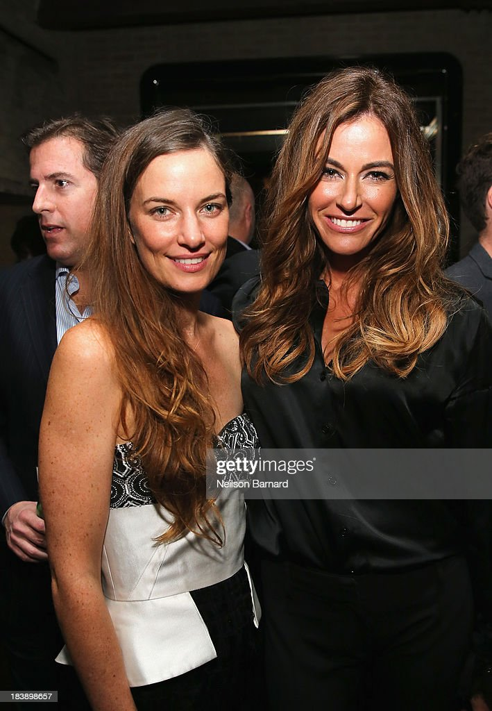 Founder and Executive Director of The Lunchbox Fund Topaz Page-Green and Kelly Killoren Bensimon attend The Lunchbox Fund Fall Fête at Buddakan, New York on October 9, 2013 in New York City.