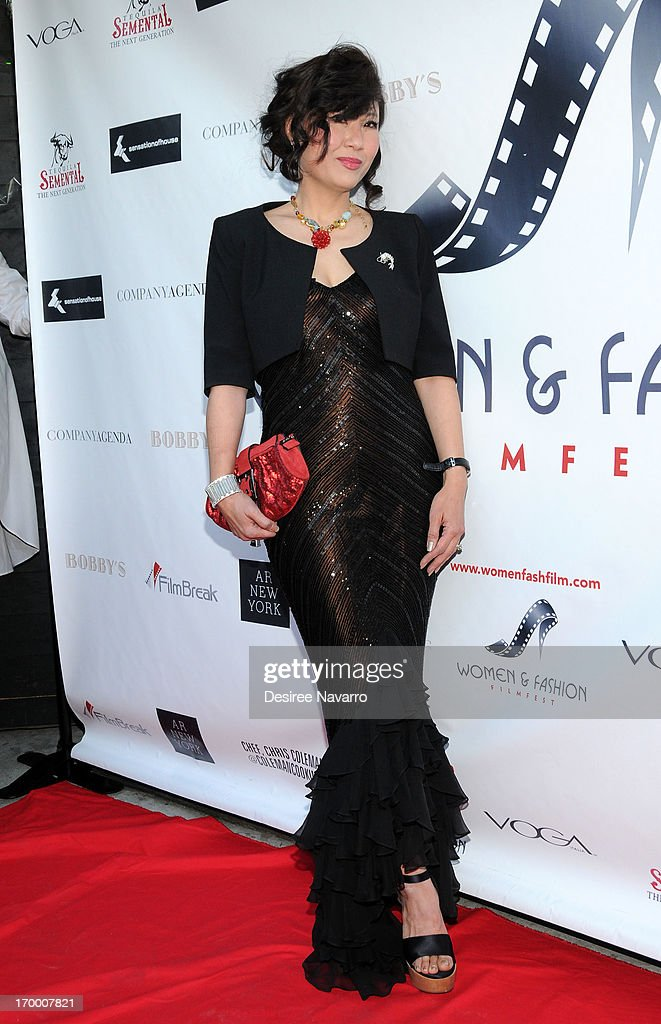 Founder and Executive Director Women & Fashion FilmFest Jeanine Jeo-Hi Kim attends the 2013 Women & Fashion FilmFest Launch Party at Bobby's Nightclub on June 5, 2013 in New York City.
