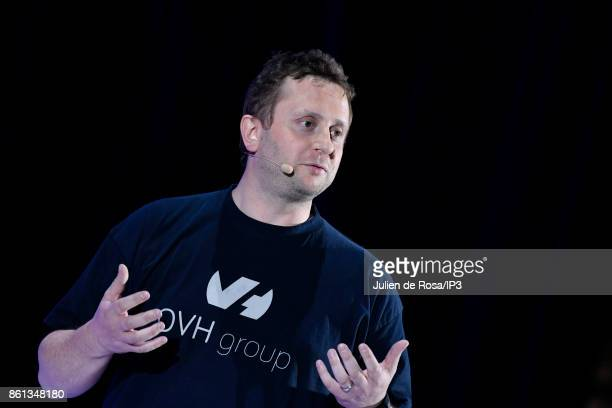 Founder and General Director of French Internet Service Provider OVH Octave Klaba attends the third edition of Bpifrance INNO generation at...
