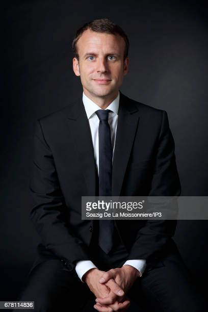 Founder and Leader of the political movement 'En Marche ' and presidential candidate Emmanuel Macron poses on July 31 2016 in Paris France In this...