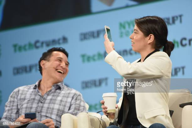 Founder and Managing Partner at Boldstart Ventures Ed Sim and Founder and CEO of Pipeline Angels and Pitch Makeover Natalia Oberti Noguera speak...
