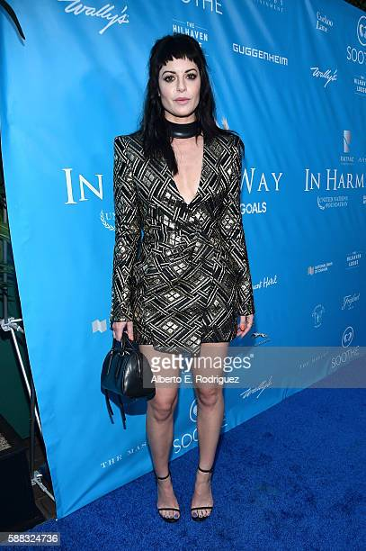 Founder and owner of Nasty Gal Sophia Amoruso attends the special event for UN SecretaryGeneral Ban Kimoon hosted by Brett Ratner and David Raymond...